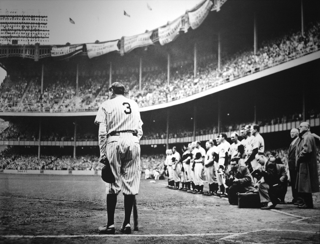 Don't let the fear of striking out hold you back. -- Babe Ruth