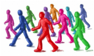 group-of-men-walking-cartoon